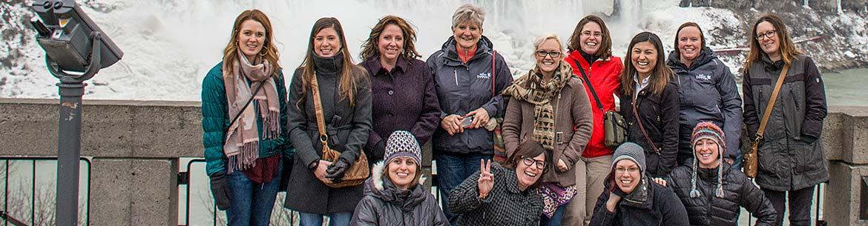 Alberta staff at Niagara on the Lake (Photo courtesy Leta Pezderic)