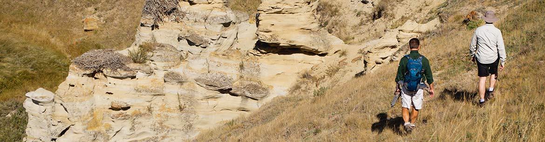 Cheminées de fées, Sandstone Ranch, Alb. (Photo de CNC/Monte Solberg)