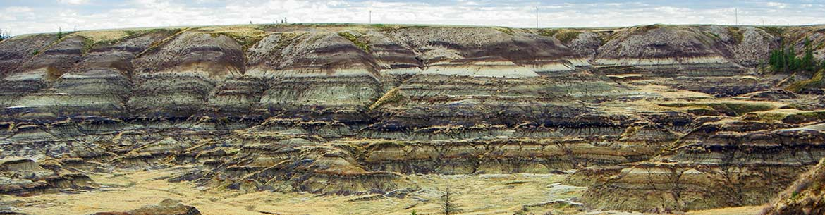 Horseshoe Canyon, Alberta (Photo by NCC)