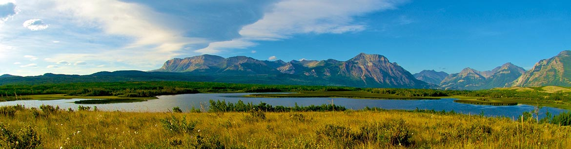 Clouds over Waterton, AB (Photo by Karol Dabbs)