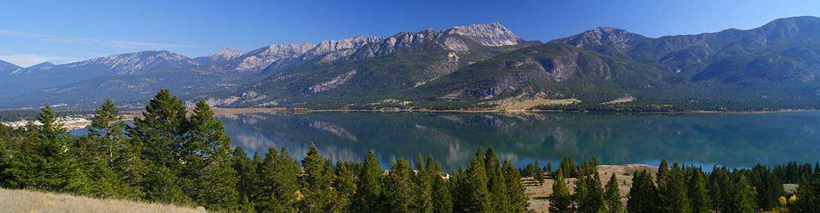 Columbia Lake in the Rocky Mountain Trench, British Columbia (Photo by Steve Short)