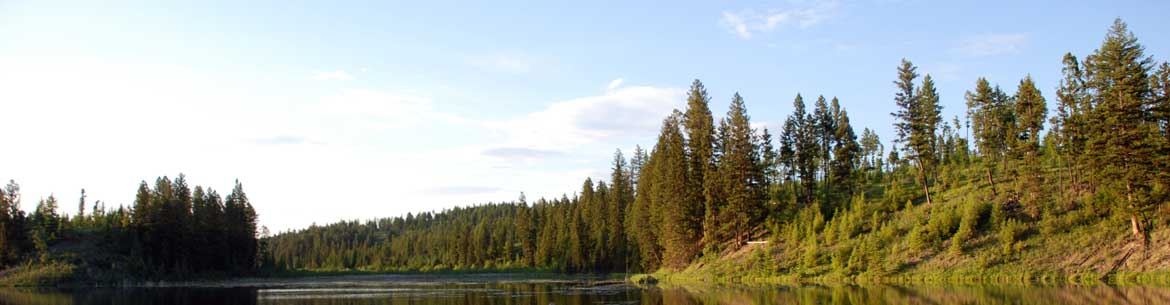SLR-K2 Ranch Conservation Project is located on the west side of Windermere Lake, BC (Photo by NCC)