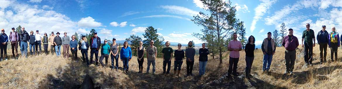 2017 Staff and Board retreat, Pine Butte Ranch, BC (Photo by NCC)
