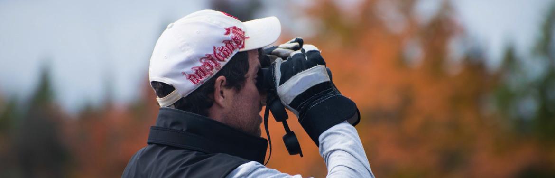 Bird watching (Photo by Sean Landsman)