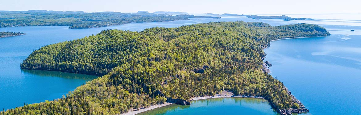 Big Trout Bay, Lake Superior, ON; Photo by NCC
