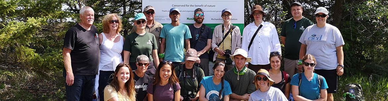 Husavik Coastal Wetlands Conservation Volunteers (Photo by NCC)