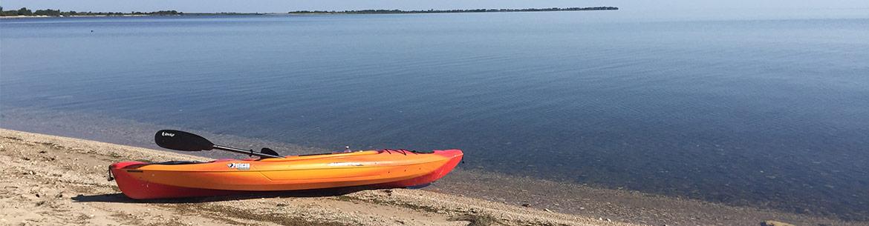 Lake Winnipeg. Photo by J. Pelc.