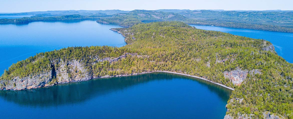 Big Trout Bay, Lake Superior, ON (Photo by NCC)