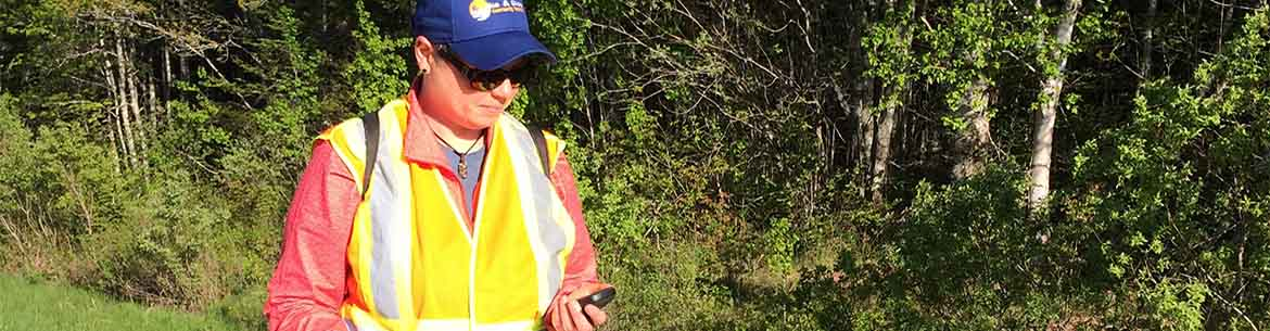 WildPaths Maritimes is a citizen science project that helps protects wildlife by using the iNaturalist app (Photo by NCC)