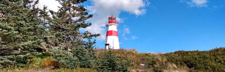 Restored Musquash Head Lighthouse (Photo by Explore Lorneville Inc.)