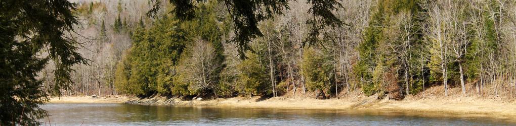 Bassin versant de la réserve naturelle de Meduxnekeag (Photo par CNC)