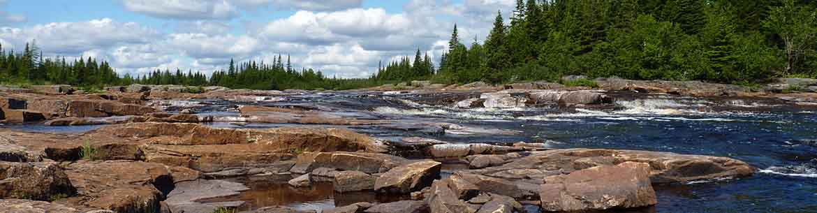 St. Mary's River in Labrador (Photo by L. Notzl)