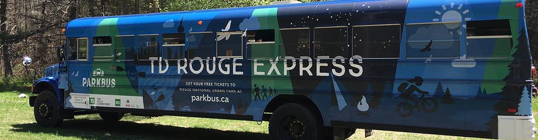 Autobus Parkbus, réserve naturelle Hazel Bird, Ont. (Photo de CNC)