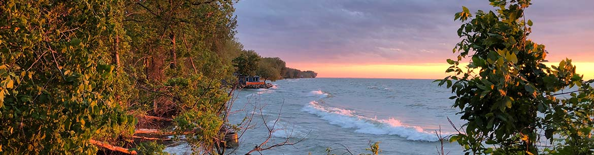 Pelee Island sunrise, ON (Photo by NCC)
