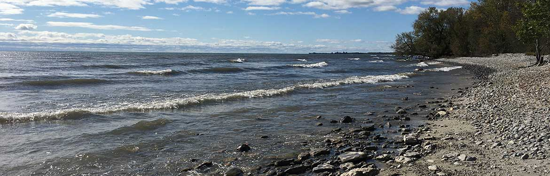 MapleCross Shoreline Reserve, Eastern Lake Ontario Coast, ON (Photo by NCC)