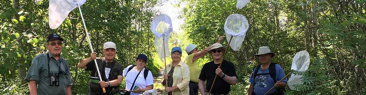 Participants at the Carden Alvar dragonfly count (Photo by NCC)