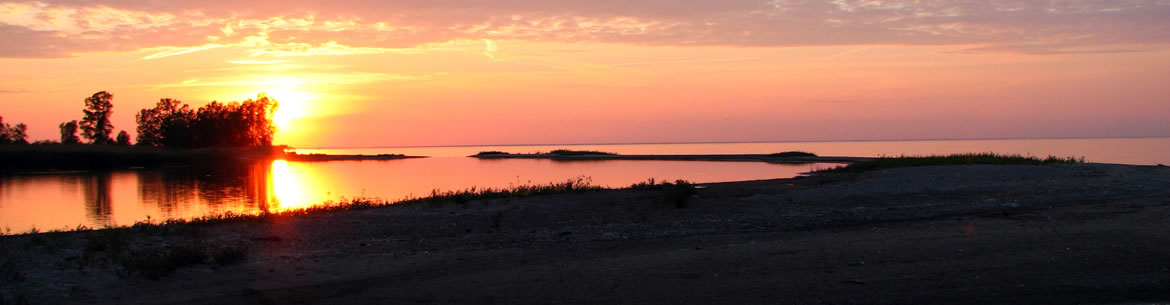 Sunset on Long Point, ON (Photo by Ryan M. Bolton)