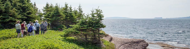 Pointe Verte, Gaspe Peninsula (Photo by Roger St-Laurent)