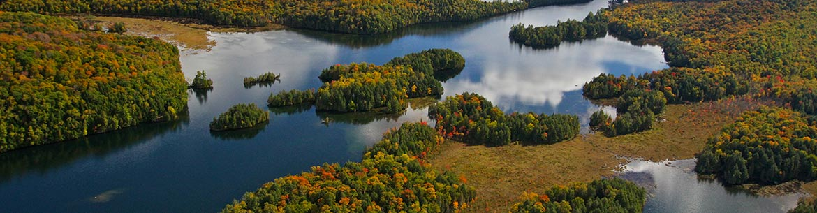 Kenauk, Quebec (Photo by Kenauk Nature)