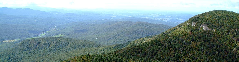 Round Top, montagnes Vertes (Photo de Claude Duchaîne)