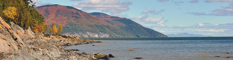 Point Argentenay, île d'Orleans, Quebec (Photo by NCC)