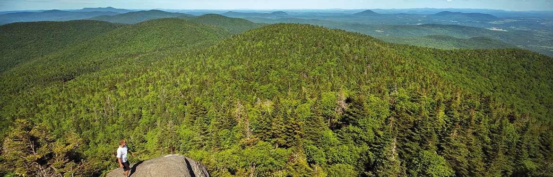 Réserve naturelle des Montagnes-Vertes, QC (Photo de Claude Côté)