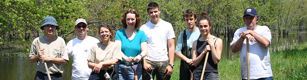 Conservation Volunteers take part in SOS Tortues event, QC (Photo by NCC)