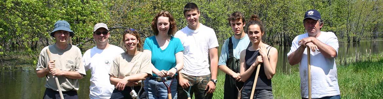 Des Bénévoles pour la conservation participent à une activité SOS Tortues, Québec (photo de CNC)