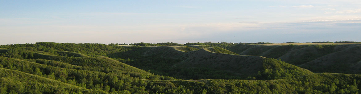 Qu'Appelle River Valley, SK (Photo by NCC)