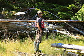 As a true outdoor fan, Joel's work and lifestyle have always been about nature. (Photo by Elisabet Kinnby)