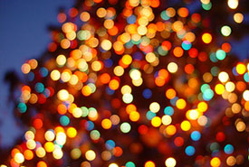 Festive lights (Photo by Jonathan McIntosh/Wikimedia Commons)