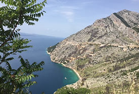 View of an Adriatic beach and its aquamarine waters (Photo by Gayle Roodman/NCC staff)