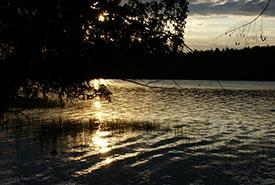 Algonquin canoe trip in 2007. (Photo by Dawn Senyi)