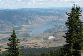 Well worth the trip: the Okanagan Valley from above (Photo by Catherine Dale)