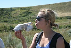 """You never know what you'll find at CV Events! Stoic Albertan treasures at """"Wildflower Seed and Sow"""" in August 2011. (Photo by NCC)"""