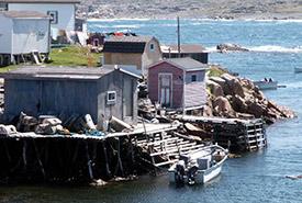 Village of Fogo, Fogo Island, NL (Photo by Carib/Wikimedia Commons)