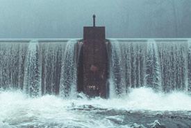 Dam (Photo by Austin Evans, Unsplash)