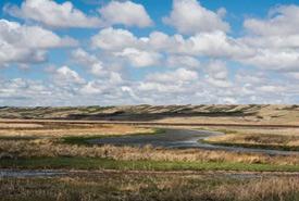 Fairy Hill, an NCC property in Saskatchewan. (Photo by Gail F. Chin)