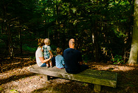 Spending time in nature is healthy for both adults and children. (Photo by Neil Osborne)