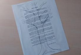 Poem by Irene Bilobeau (Photo by NCC)