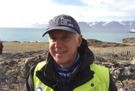 John Lounds at Sirmilik National Park (Photo by NCC)