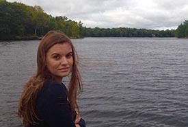 Kendra at Muskoka, Ontario (Photo by John Ennis)