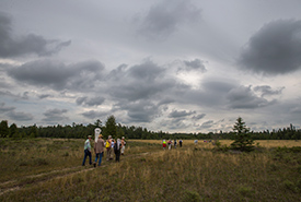 Leaders in Conservation in Carden Alvar, ON (Photo by NCC)