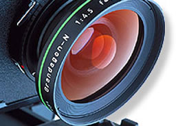 Large-format camera lens (Photo by Wikimedia Commons, Image Gallery of the Agricultural Research Service (U.S. Department of Agriculture))