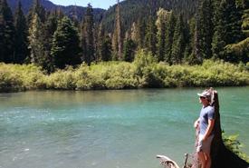 Author Michael Paskewitz at Cheakamus Lake, BC (Photo courtesy of Michael Paskewitz)