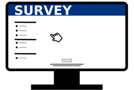 Online survey (Graphic by Wikimedia Commons/Tungilik)