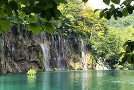 Plitvice Lakes National Park, one of the oldest and largest national parks in Croatia. (Photo by Gayle Roodman/NCC staff)