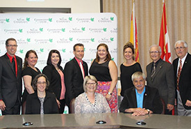 Signature de l'entente de partenariat avec Conservation de la nature Canada. (Photo de CNC)