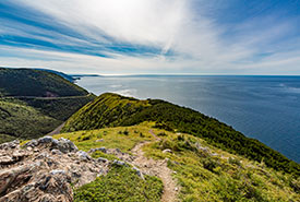 Skyline trail, Cape Breton Highlands National Park, NS (Photo by Tony Webster, Wikimedia Commons)