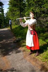 Soundwalk in Koli, Finland June 2010. (Photo by Eric Leonardson)